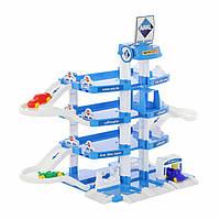 Паркинг Полесье ARAL-2 4-уровневый с автомобилями (в коробке) 46093