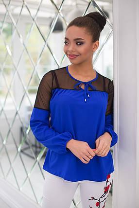 Обворожительная блуза с вставками сетки, фото 2