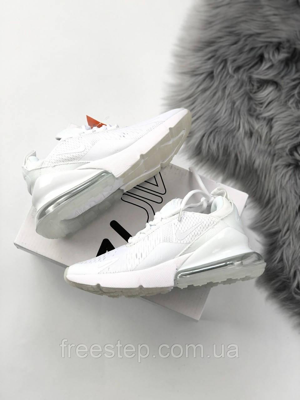 4660cb84 Женские кроссовки в стиле NIKE Air Max 270 белые: продажа, цена в ...