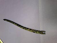 Мужской браслет из вольфрама Mini  с германиевыми вставками , фото 1