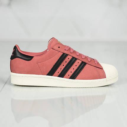"""ОРИГІНАЛ! Кросівки Adidas Superstar 80s """"Рожеві"""", фото 2"""