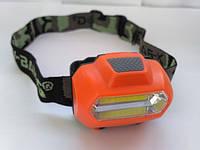 Налобний ліхтар світлодіодний BL-2088 червоний, фото 1