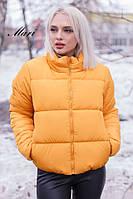Женская модная стеганная курточка синтепон 200 (оригинал), фото 1