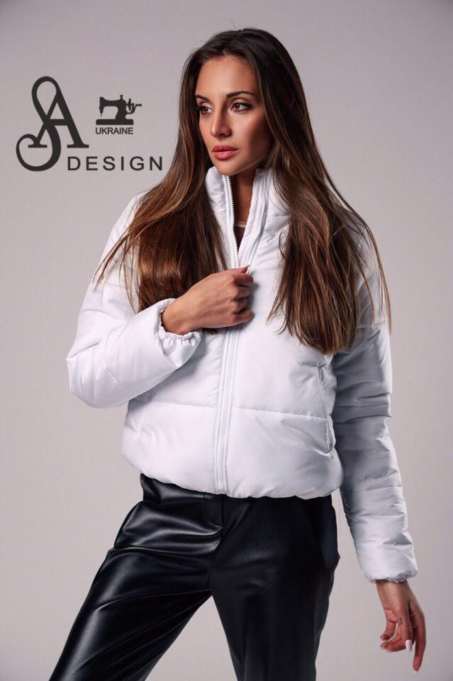 Женская модная стеганная курточка синтепон 200 (оригинал)