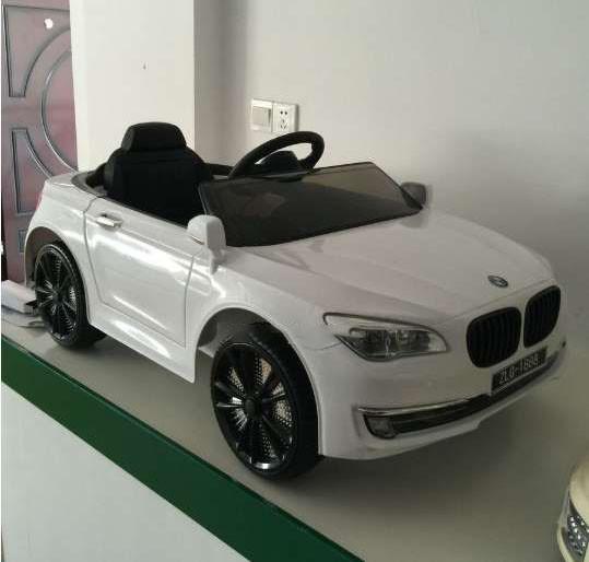 Детский электромобиль с пультом BMW T-7615 WHITE