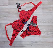 Комплект білизни червоний 75,80,85 В арт BIWEIER.