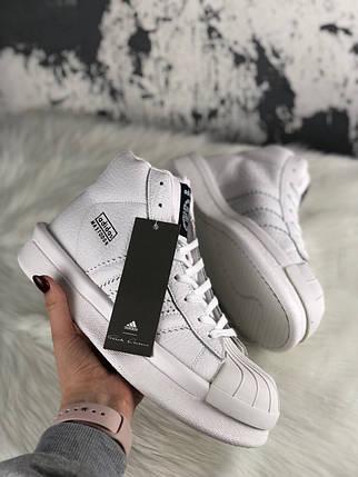 """Кроссовки Adidas Mastodon Pro II × Rick Owens """"Белые"""", фото 2"""
