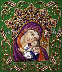 Набор для вышивки бисером БП-152  Богородица Умиление в короне