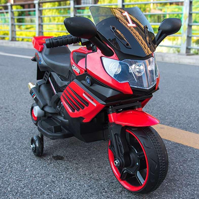 Детский электромотоцикл T-7210 RED