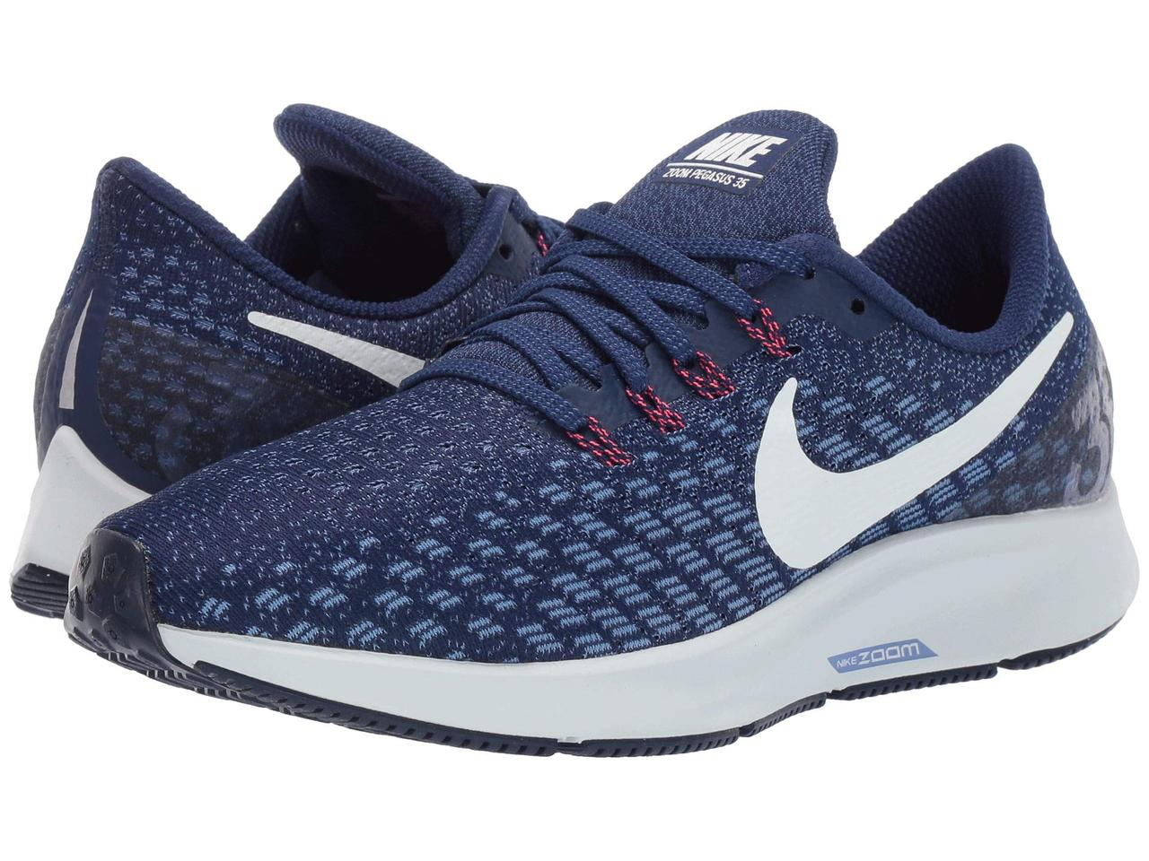 6155e7171839 Кроссовки Кеды (Оригинал) Nike Air Zoom Pegasus 35 Blue Void Ghost Aqua