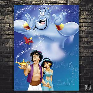 Постер Аладдин, Aladdin (1992). Размер 60x45см (A2). Глянцевая бумага