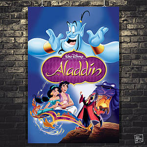 Постер Аладдин, Aladdin (1992). Размер 60x40см (A2). Глянцевая бумага