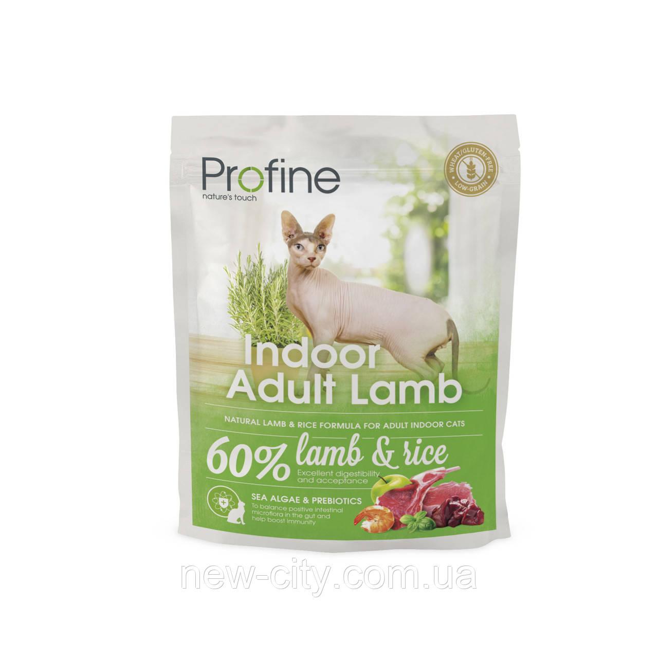 Profine Cat Indoor Adult Lamb 300g  корм для кошек