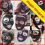 Черная маска-пленка от прыщей и черных точек Black Mask, фото 8