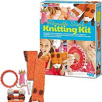 Детский комплект для вязания Шарфа 4M (00-04722)
