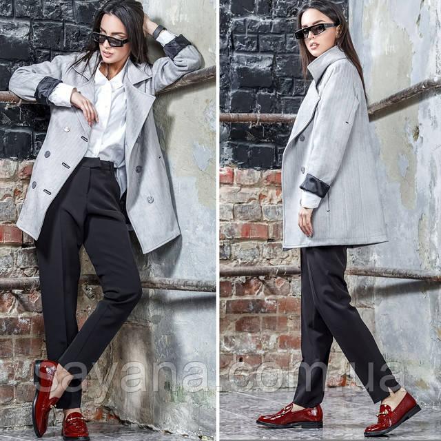 женская молодежная куртка-жакет