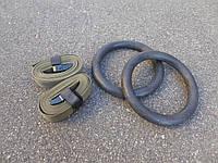Гимнастические кольца для кроссфита из пластика