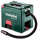 Аккумуляторный пылесос Metabo AS 18 L PC + 2 акб 18 V 5.2 Ah + з/у (602021000), фото 3
