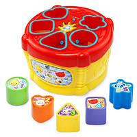 Vtech Музыкальная игрушка сортер барабан Sort Discover Drum, фото 1