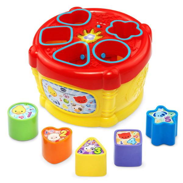 Vtech Музыкальная игрушка сортер барабан Sort Discover Drum Vtech 09460, фото 1