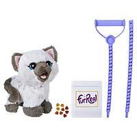 FurReal Friends Интерактивная игрушка забавный котёнок Ками Kami, My Poopin' Kitty C1156 ЭКОУПАКОВКА