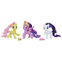 My Little Pony Набор пони Рарити, Твайлайт Спаркл, Флаттершай Twilight Sparkle Rarity Fluttershy 3-Pack, фото 1