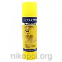 Клей-карандаш Economix PVA E41203, 15 грамм
