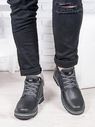 Черные ботинки Tom H!lf!ger 6238-28, фото 2