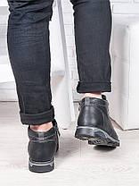 Черные ботинки Tom H!lf!ger 6238-28, фото 3