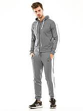 Мужской спортивный костюм 449 темно-серый