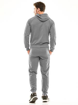 Мужской спортивный костюм 449 темно-серый, фото 2