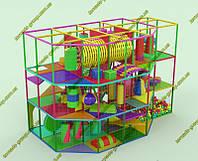 """Детский лабиринт игровой 3 этажа """"Лорд"""", фото 1"""