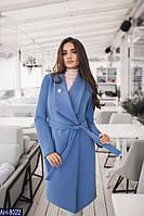 Женское пальто с кашемира на подкладке, фото 1