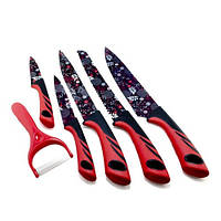 Набор ножей UNIQUE UN-1806 5+1
