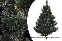 🎄 Сосна новогодняя искусственная с белыми кончиками 2.1 м., фото 1