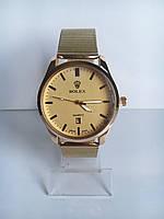 Мужские наручные часы Rolex (Ролекс), цвет золотистый ( код: IBW187Y1 )