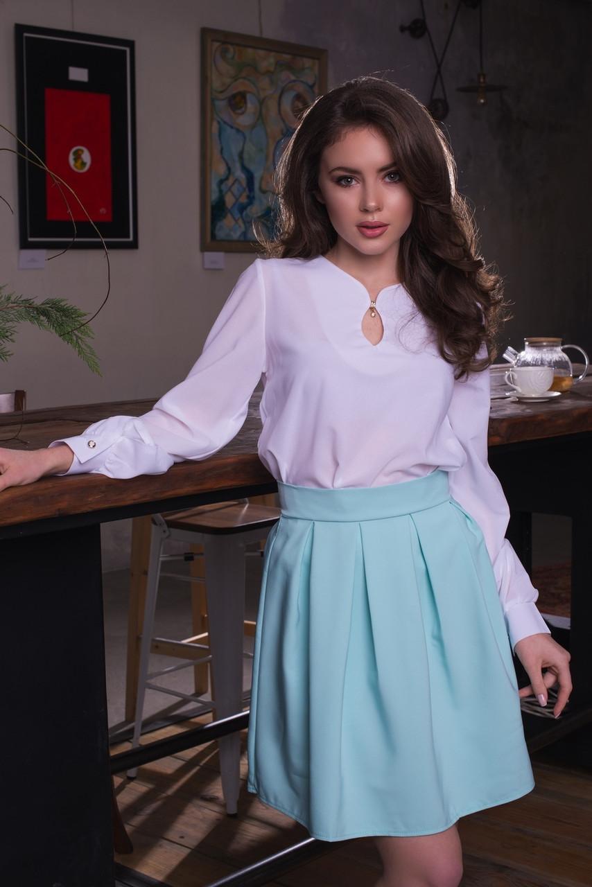 Красивая юбка присборенная у талии
