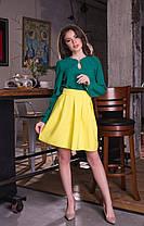 Красивая юбка присборенная у талии, фото 3