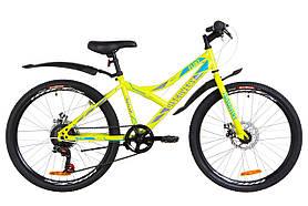 Велосипед Discovery Flint DD 24 2019 механические тормоза