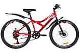Велосипед Discovery Flint DD 24 2019 механические тормоза, фото 4