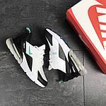 Мужские кроссовки Nike Air Max 270 (бело-мятные), фото 2