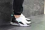 Мужские кроссовки Nike Air Max 270 (бело-мятные), фото 3