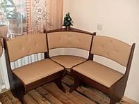 Кухонный уголок Боярин без стола и табуретов