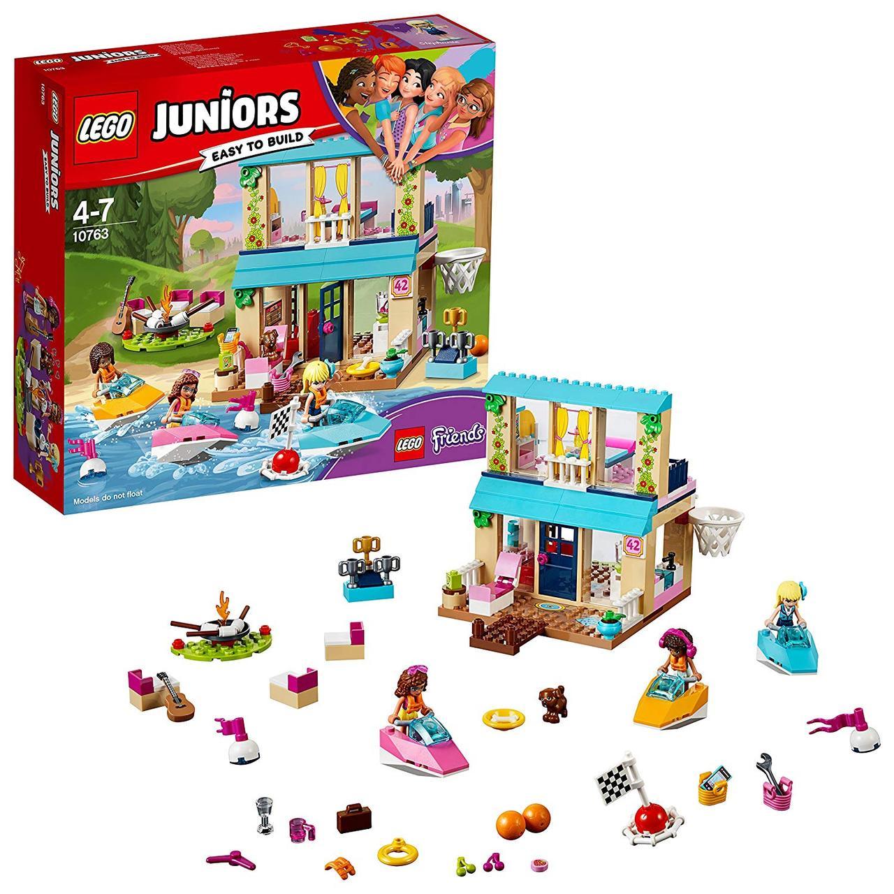 Lego Juniors 10763 Будиночок Стефані біля озера (Конструктор Лего Джуниорс Будиночок Стефані біля озера)