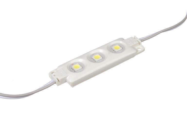 Светодиодный модуль SMD5050, 3LED Plastic IP67