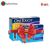 Тест полоски OneTouch Ultra  №50 (8 упаковок)