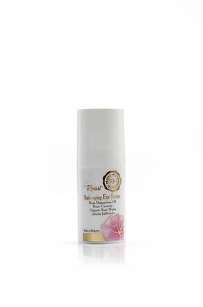 Сироватка для шкіри навколо очей антивікова з маслом троянди RosArt Bulgarian OrganiRose 15 мл, фото 2