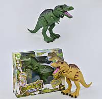Динозавр з проектором, ходить, світяться очі, звук, в коробці