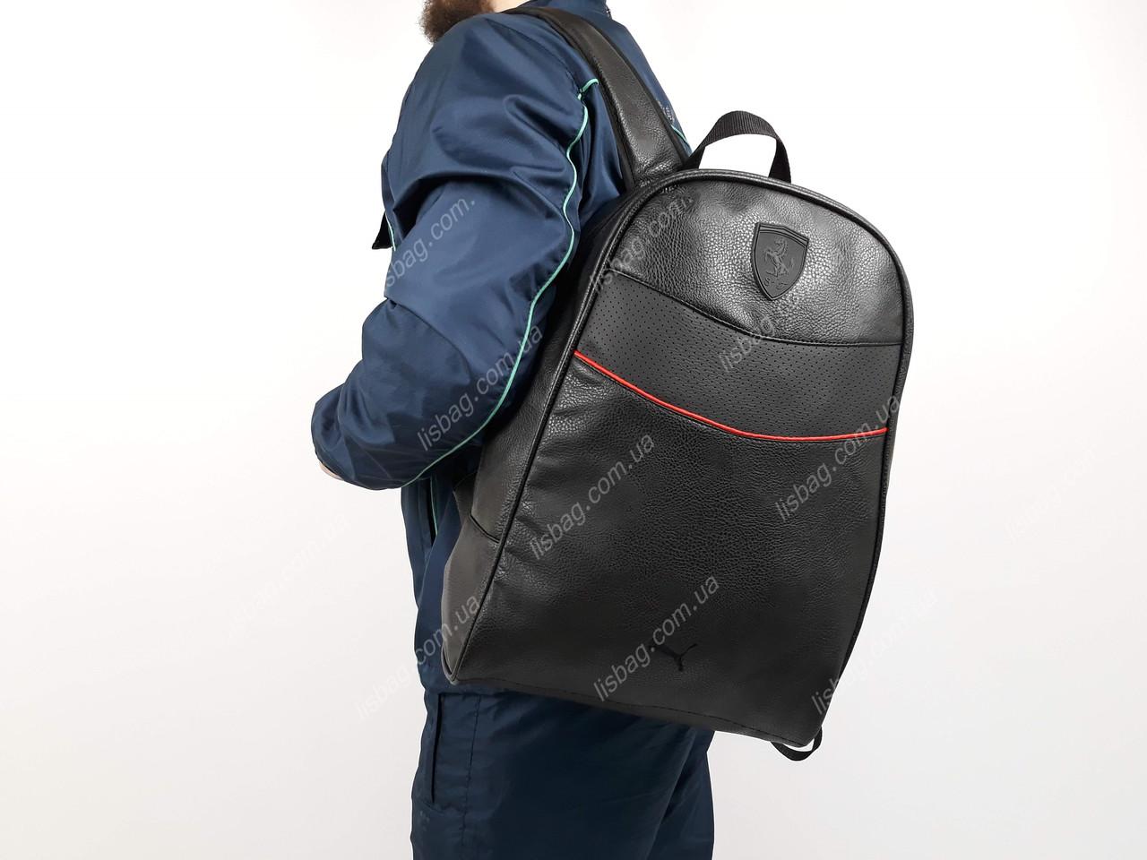 067655b75b81 Рюкзак Puma-Ferrari из кожи PU. Люкс модель спортивного типа новинка 2019  года