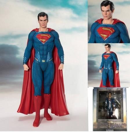 Фигурка Игрушка Супермен. Статуэтка Superman. Человек из стали. Высота:18 см!, фото 2